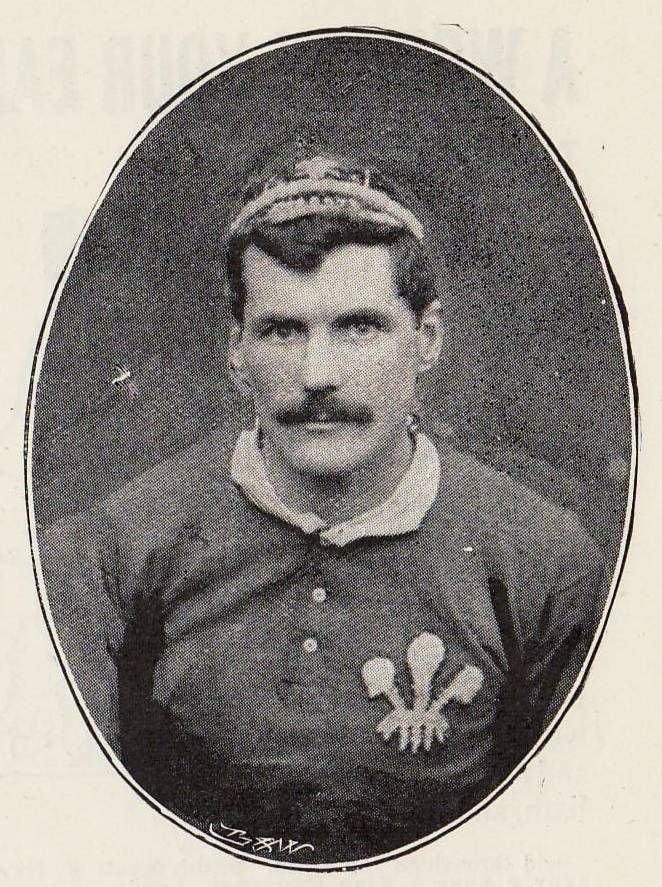 Rugby History : today 09/01 in 1887.   Wales 11-0 England ...  Arthur Gould (above), lead Wales for the last time to an 11-0 win over England at Newport's Rodney Parade. He retired with 27 Welsh caps (capt 18 times) under a cloud of controversy. A testimonial organised by fans raised hundreds of pounds, apparently contravening IFRB rules on professionalism. After a protracted row, Wales withdrew from international fixtures in 1897, returning to play the England fixture the following season.