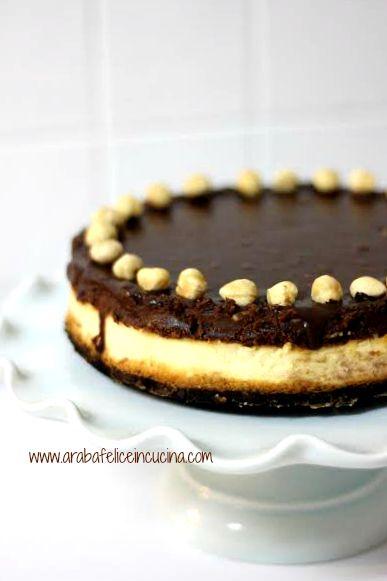 Arabafelice in cucina!: Cheesecake bicolore alla Nutella