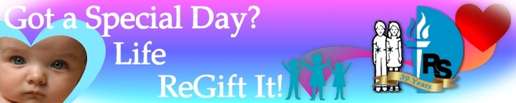 ReGift Life: ReGift Your Special Day - And Wipe Out Reye's Syndrome!