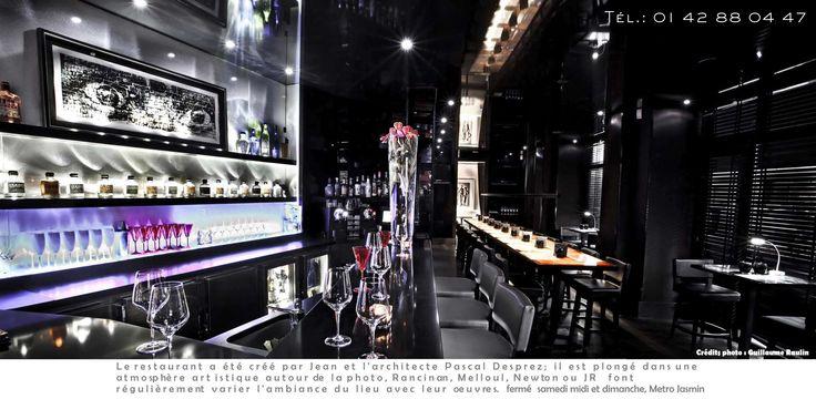Le Restaurant / Jean IMBERT - Restaurant l'ACAJOU 35, bis rue de La Fontaine 75016 Paris