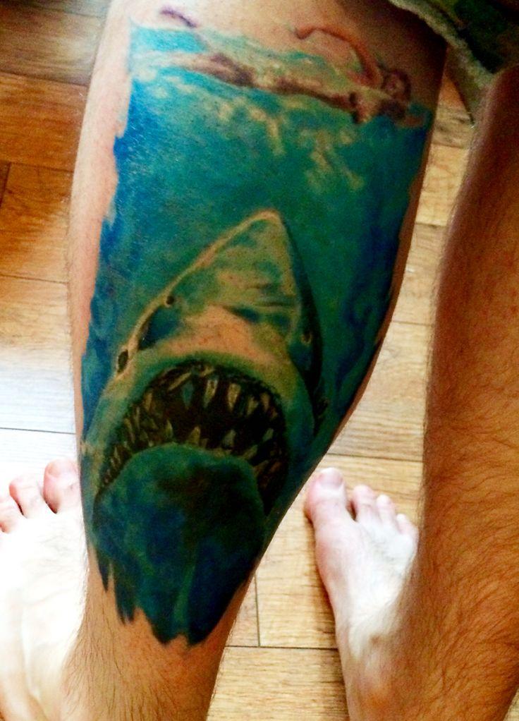 Quint jaws tattoo