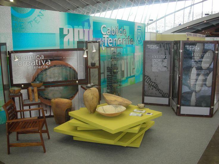Mejor Stand Decorado en la 1ª Feria Tricontinental 2010 en la que se reconoce el esfuerzo creativo del artesano en la consecución de un montaje atractivo para la exposición y venta de su producción.
