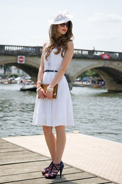 Henley Regatta ¦ Vintage Dress ¦ Vogue