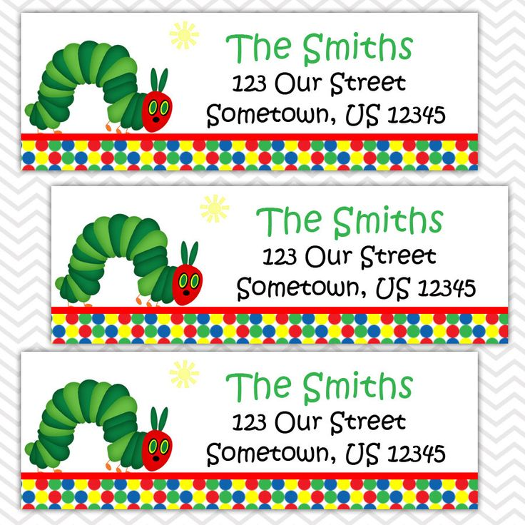 25+ bästa Personalized address labels idéerna på Pinterest - sample return address label