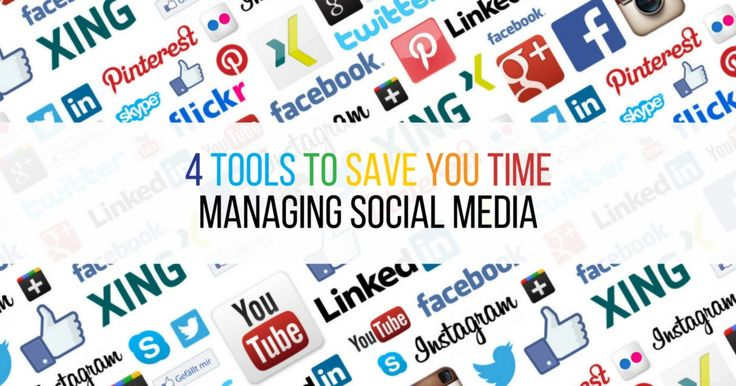 Do you struggle to find enough time to manage all your social media accounts? And when you do get on to it, do you find yourself spending hours at a time and wondering where your day went? Then you need to check out these 4 tools to save you time managing social media.