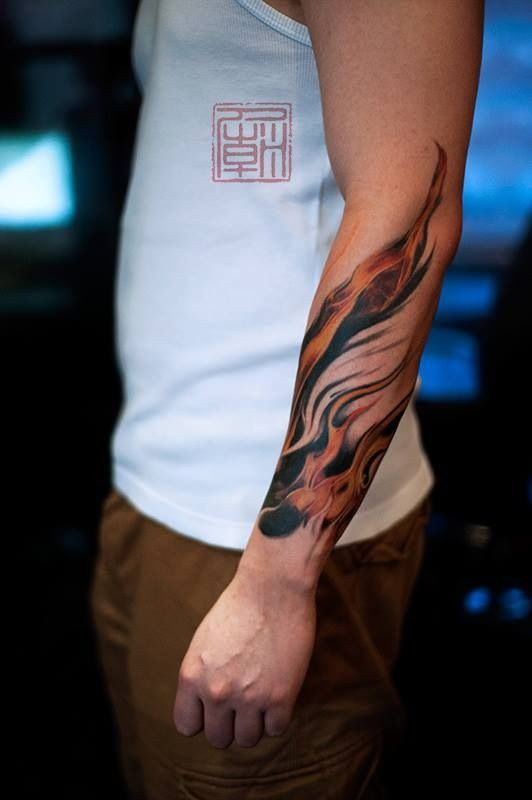 Best 25+ Flame tattoos ideas on Pinterest | Fire tattoo, Tattoo ...