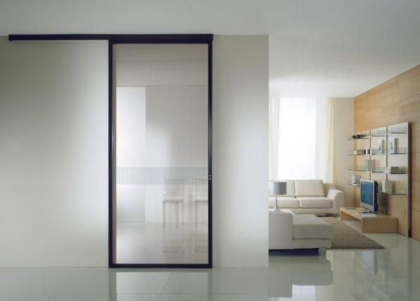 42 best porte scorrevoli vetro images on Pinterest | Sliding doors ...