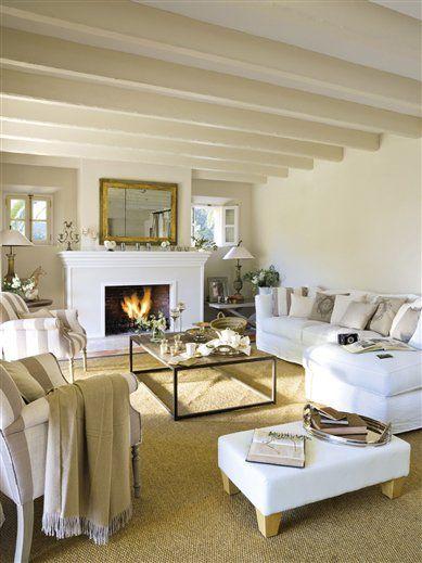Un salón decorado con artesanía mallorquina · ElMueble.com · Salones