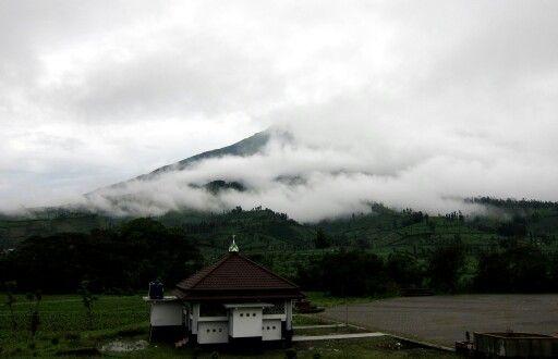 Musholla dikaki gunung Sumbing, Kledung,  Temanggung ..