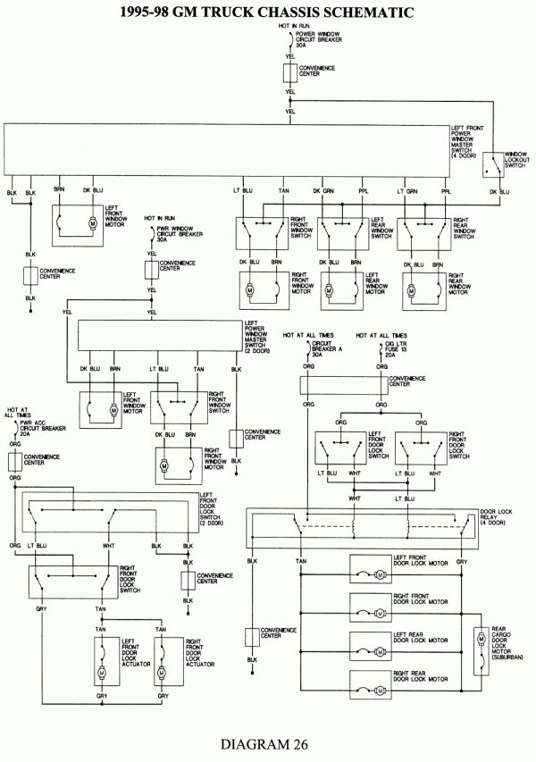 1992 3500chevy Truck Wiring Diagram And Wiring Diagram For Chevy Radio Wiring Diagrams Electrica Autos