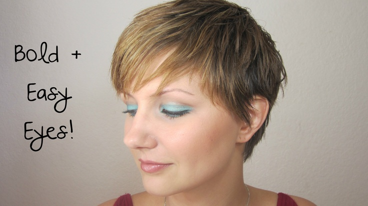 Bright colorful eyes tutorial. Easy to do and long lasting!