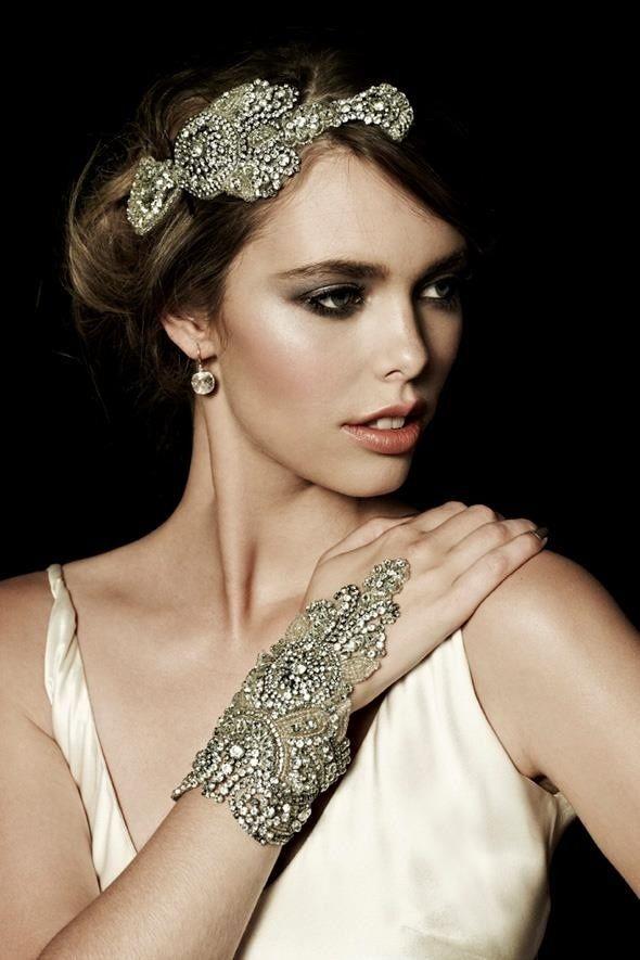 Bijoux des années folles 1920 - 1920 jewelry, neclace, bracelet, bracelet