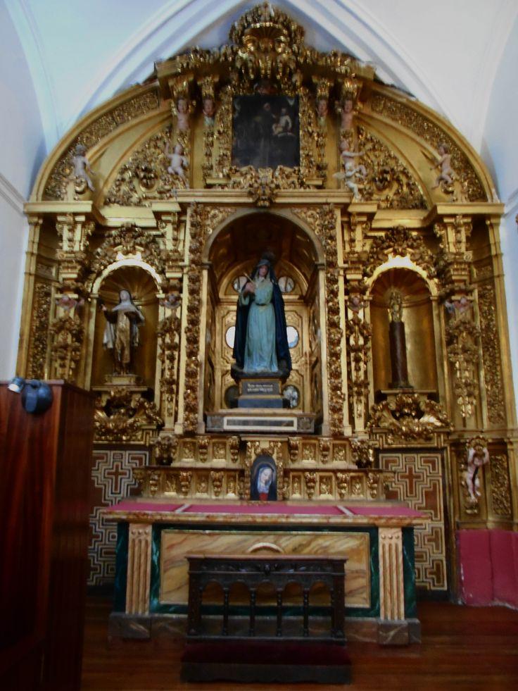 Iglesia del San Idelfonso ( Jesuitas ) Retablo de la Dolorosa