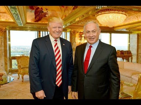 Donald Trump  I'm very strong on Israel –   USA
