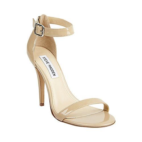 Steve Madden REALOVE BLUSH PATENT women's dress high ankle strap
