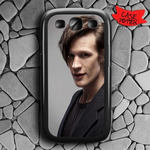 Matt Smith Is Doctor Who Samsung Galaxy S3 Black Case