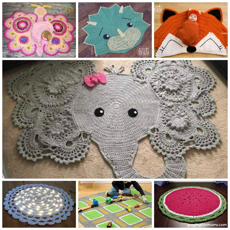 Superior Adorable Crochet Rug Patterns And Designs!