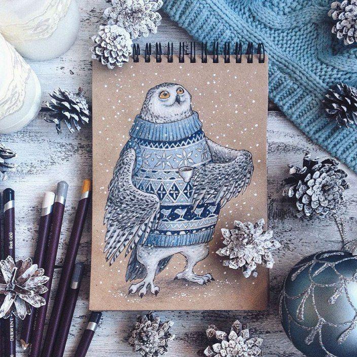 Pencil_illustrations_lia_selina10.jpg (704×704)