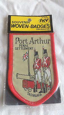 Port Arthur, Penal Settlement, Tasmania - Souvenir Woven/Cloth Badge