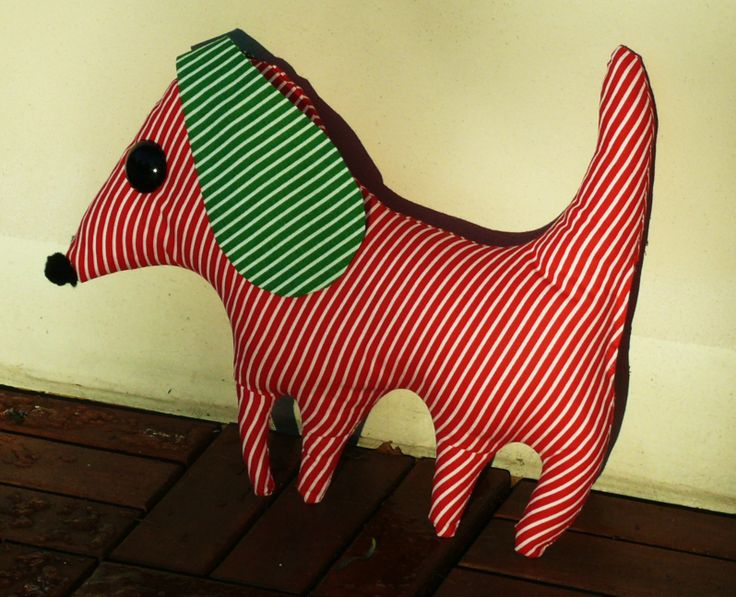 My sewing -Red Dog