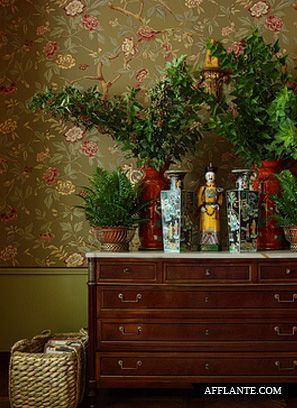 Oriental Vases...Russian Townhouse Interior by Kirill Istomin