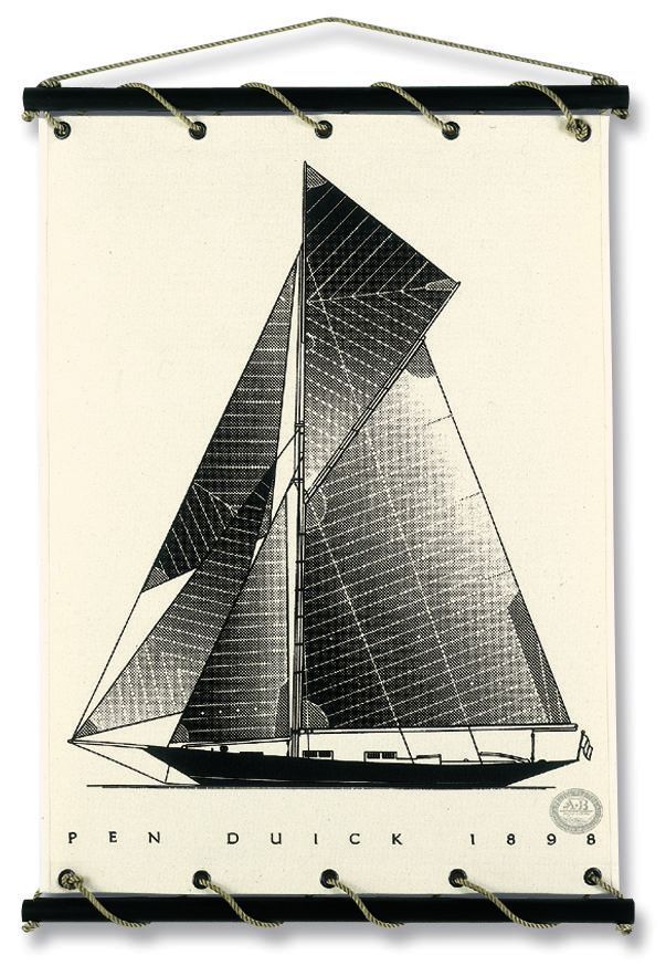 Le premier Pen Duick, créé en 1898, d'après les plans d'un architecte écossais William Fife III.