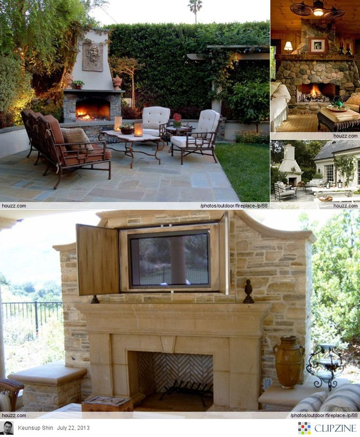 82 best trellis or outside fireplace images on pinterest ... - Patio Ideas With Fireplace