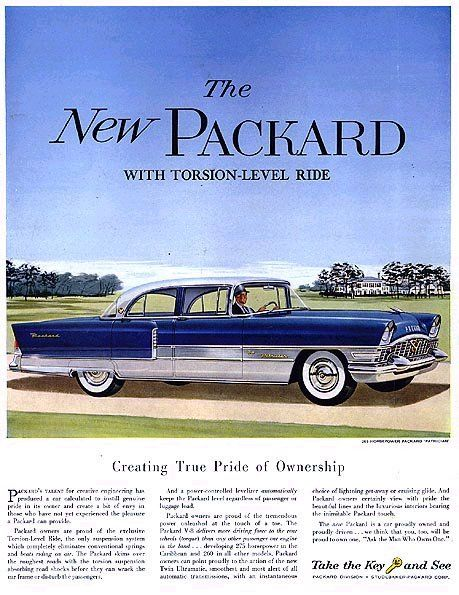 Curbside Classic: 1955 Packard Four Hundred – Bravely Facing Forward