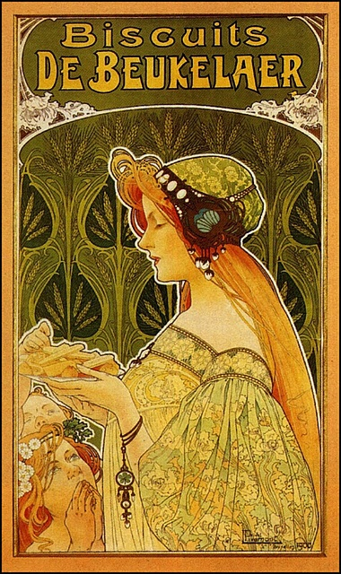 Cookie advertisement by Henri Privat-Livemont, 1900