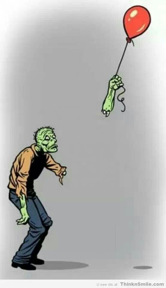 Zombie balloon