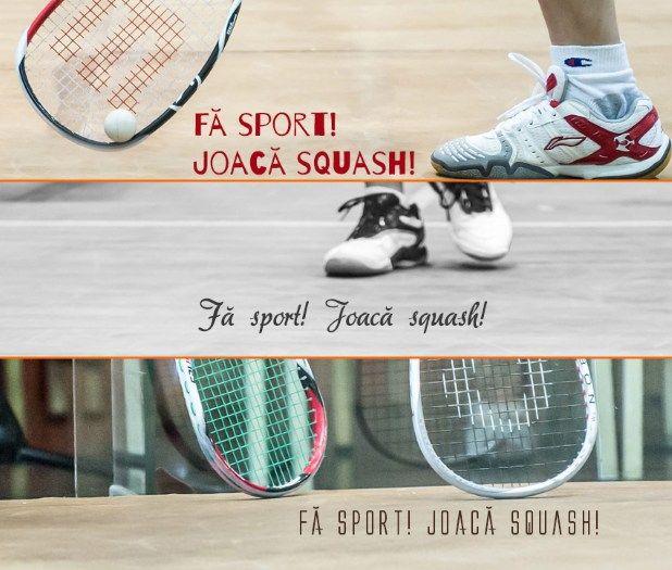 promoveaza squash-ul in Romania