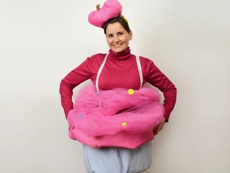 DIY tutorial: Cupcake kostuum maken via DaWanda.com