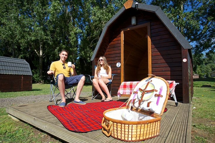 Camping Pod holidays in Northamptonshire at http://www.billingaquadrome.com