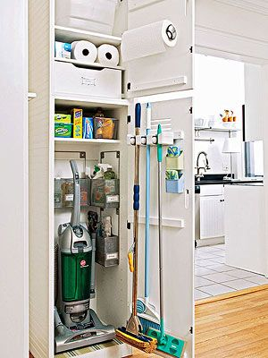 Transform your utility closet into a lean, mean, home maintenance machine. Plus superstar sprays, scrubbers, mops and more.