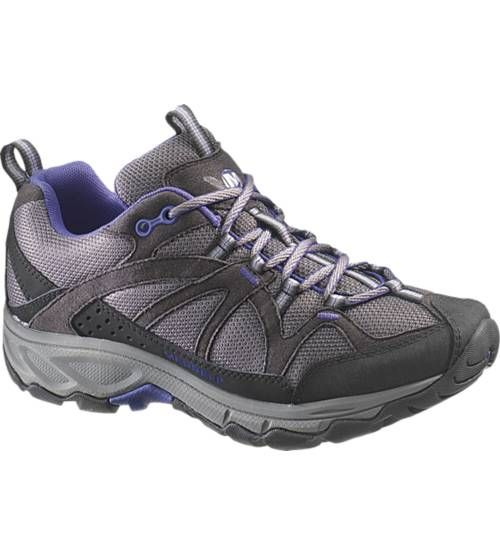 Merrell Women's Calia  Does your typical list of activities rival adventure reality shows? This multisport, multi-tasking shoe was made for you. Our trusted performance, women's specific cushioning, signature comfortable fit and confident traction will get you from Point A to B with a little extra spring in your step.