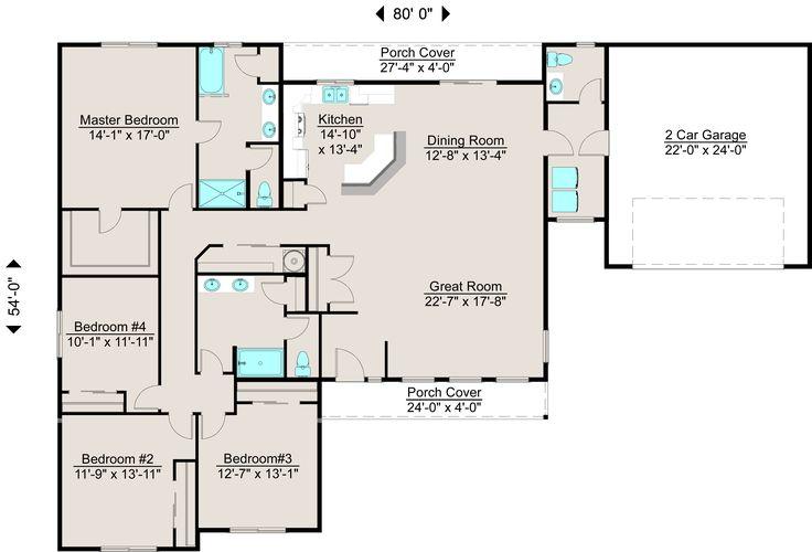 Lexar Homes 2363 Floor Plan Lexar Dream Home