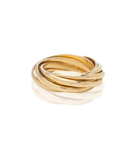 Russian Wedding Ring, Yellow Gold