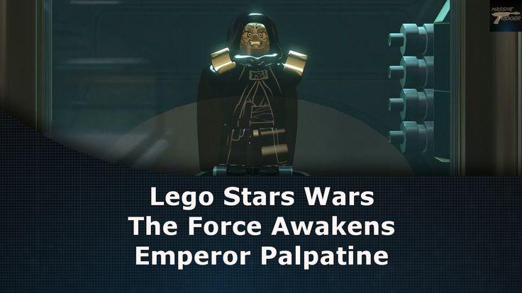 Lego Star Wars The Force Awakens Emperor Palpatine Unlock Location