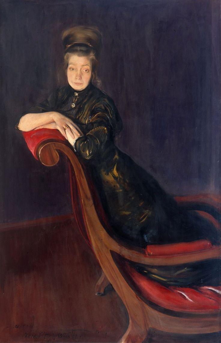 Konrad Krzyżanowski - Portret żony artysty, 1911