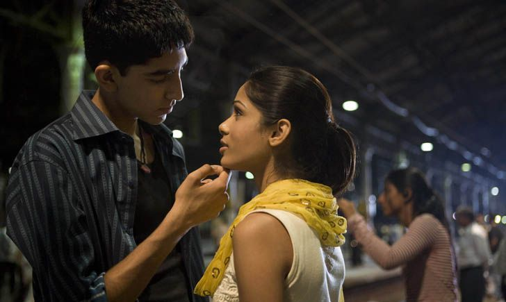 Dev Patel and Freda Pinto from Slumdog Millionaire