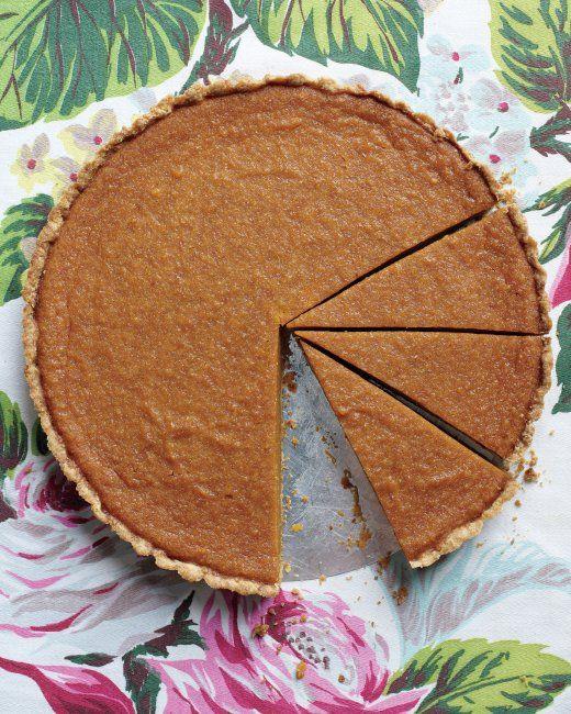 Maple-Pumpkin Tart. Thanksgiving