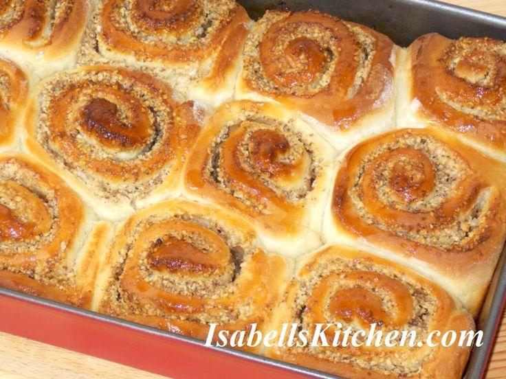 Walnut rolls – isabell's kitchen