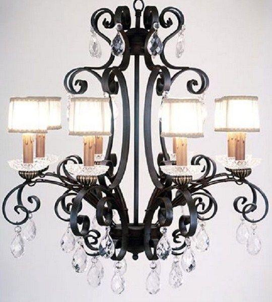 Lopez de Hierro Granada - Lámpara Forja 8 luces hierro