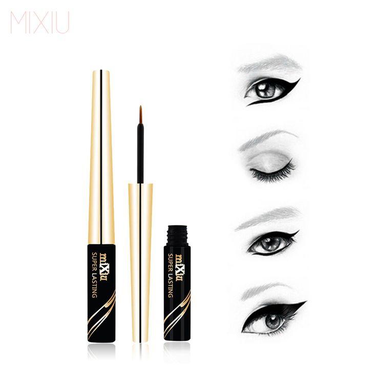 V5 Eyes Makeup 6ML Black Liquid Eyeliner Waterproof Liquid Eye Liner Pencil Cosmetics Long Lasting Matte Eyeliner Brand By MIXIU