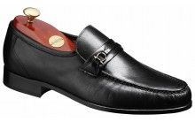Barker Wade Mens black slip on Moccasin shoe http://www.robinsonsshoes.com/mens-shoes/barker-wade.html