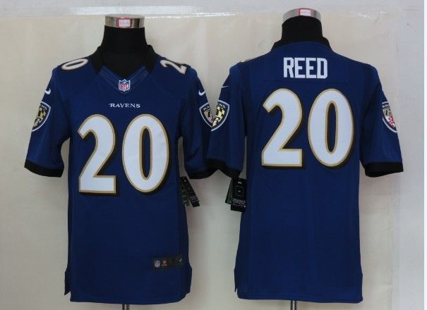 68349613d ... Reed Jersey Purple NEW Limited 20 Nike NFL Baltimore Ravens Jersey 23  Football CollectiblesUniforms