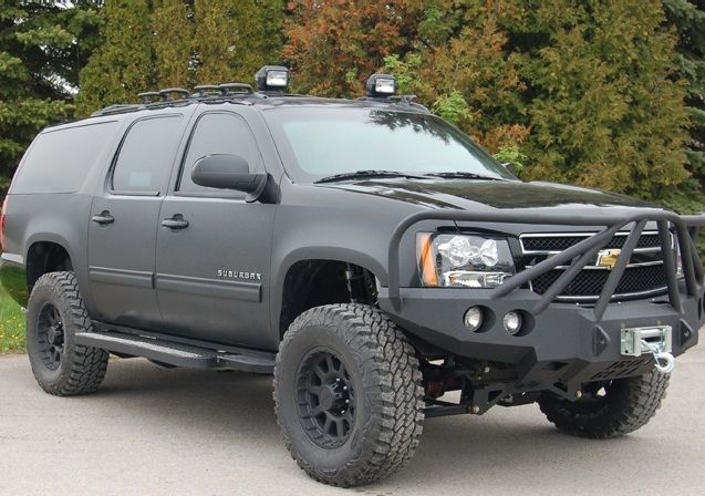 Chevy Suburban Presidential (Armoured)