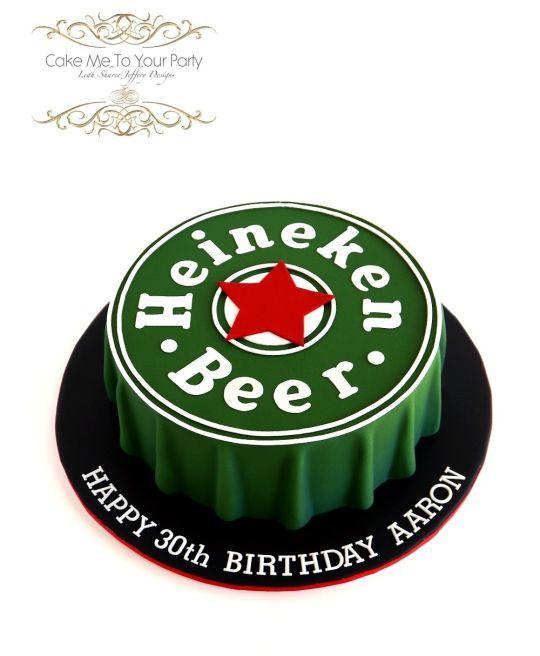 Heineken Beer Cap Cake