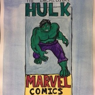 The Hulk, Marvel.