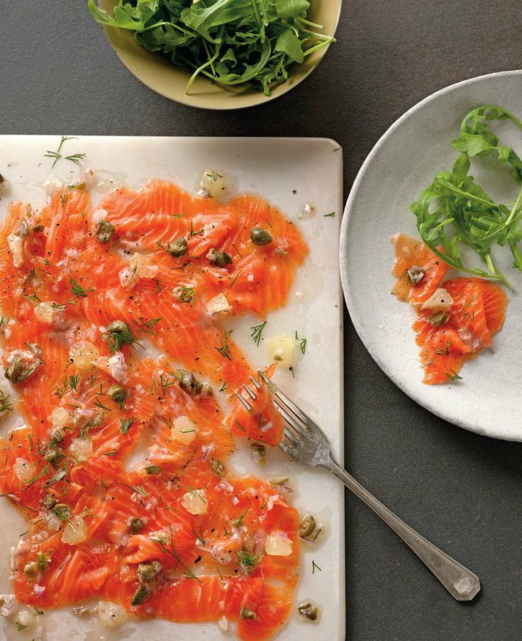 Vanilla and vodka cured trout by Ben O'Donoghue | Cooked